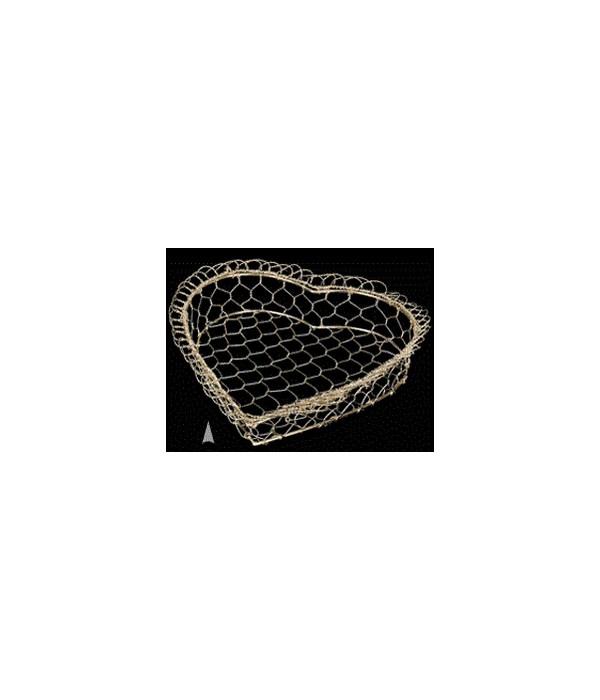 29/68-14 GOLD METAL HEART TRAY CS. PK.: 100