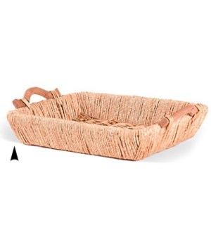 3/037L OBLONG MAIZE AND WILLOW TRAY CS. PK.: 15