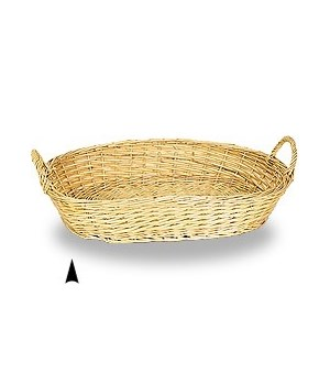 3/102/389  OVAL FULL WILLOW TRAY CS. PK.: 50