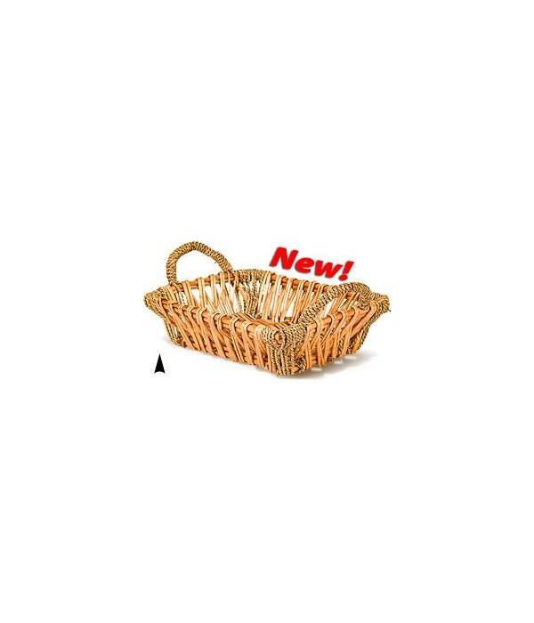 3/12-8 OBLONG WILLOW AND SEAGRASS TRAY CS. PK.:
