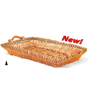 3/14-97 OBLONG WILLOW TRAY CS. PK.: 30