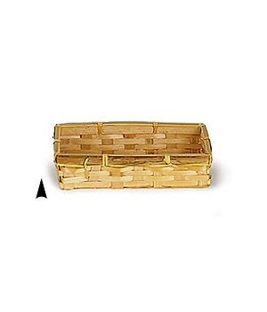 3/159/S OBLONG BAMBOO CRACKER BASKET CS. PK.: 500