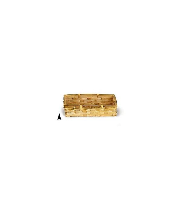 3/159/S OBLONG BAMBOO CRACKER BASKET CS. PK.: 500