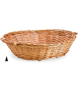 3/26987  OVAL SPLIT WILLOW TRAY CS. PK.: 30