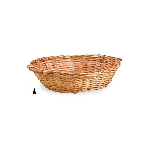 3/26987L  OVAL SPLIT WILLOW TRAY CS. PK.: 15