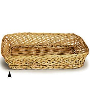 3/45314/10 OBLONG WILLOW TRAY CS. PK.: 200