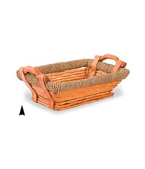 3/592 OBLONG WILLOW TRAY W/BASE CS. PK.: 30
