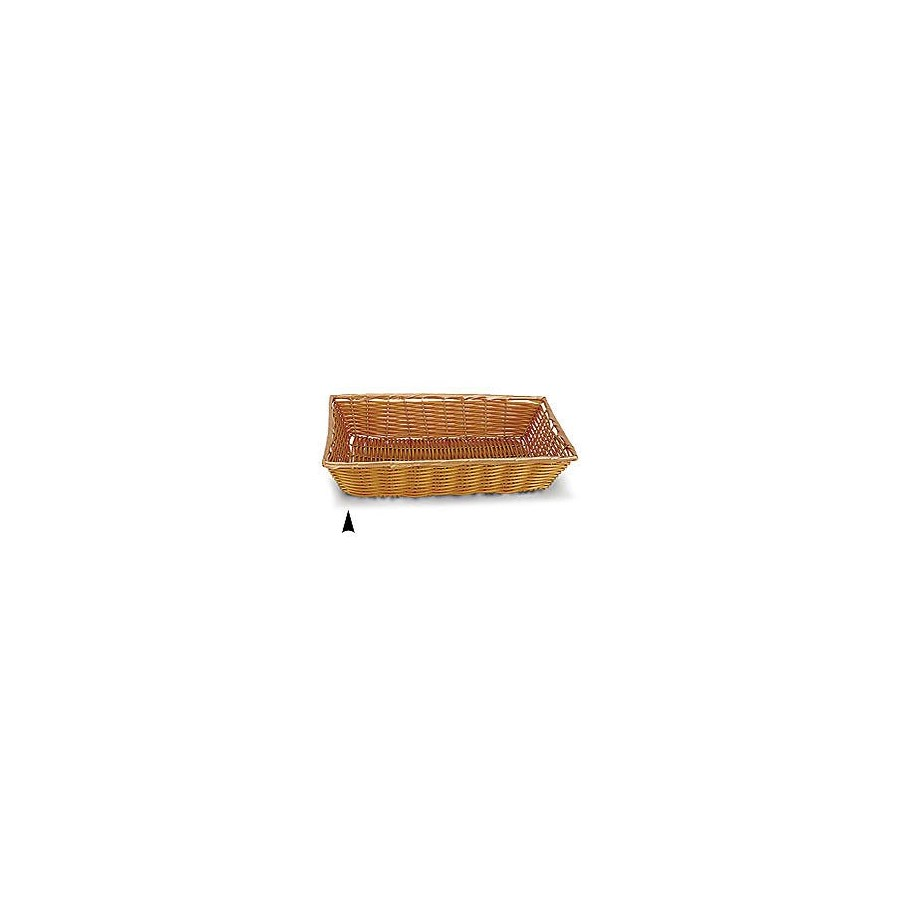 3/607/B OBLONG SYNTHETIC WICKER TRAY CS. PK.: 30