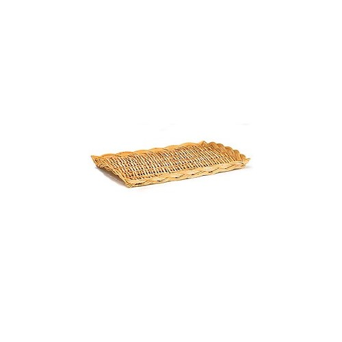 3/70/13 OBLONG WILLOW PLATTER CS. PK.: 100