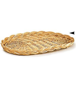 3/71/10 OVAL WILLOW PLATTER CS. PK.: 250