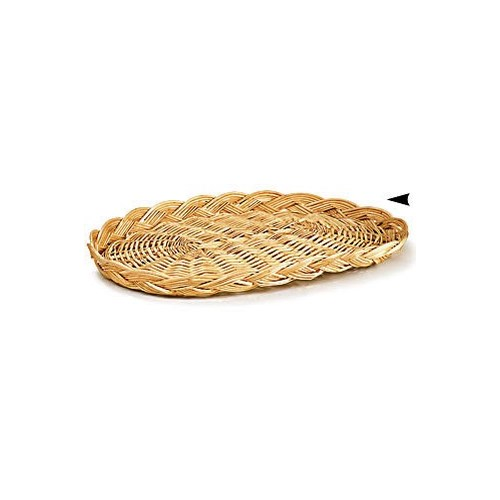 3/71/12 OVAL WILLOW PLATTER CS. PK.: 200