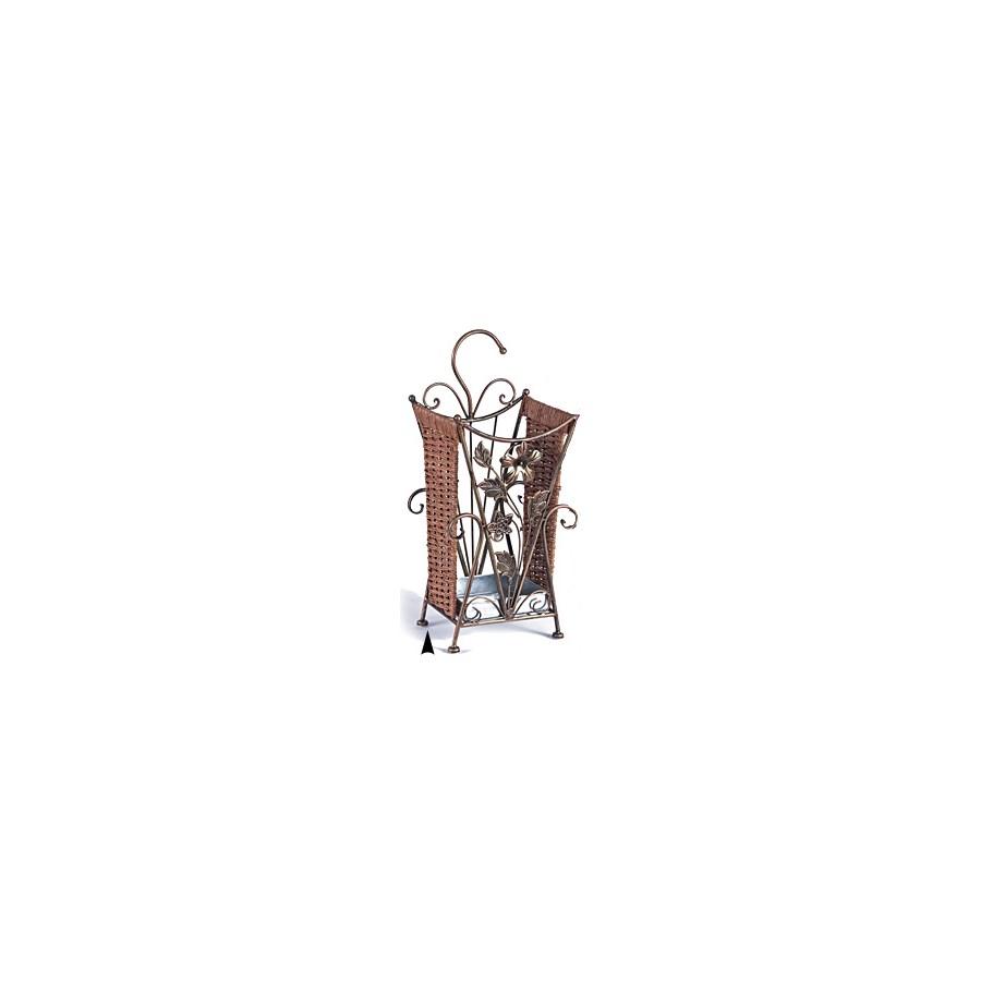 3080 ANTQUE COPPER METAL DOOR UMBRELLA HOLDER CS. PK.: 6