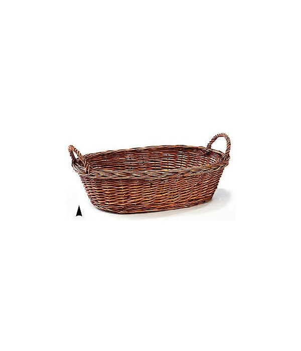 4/1070/20S OVAL STAINED WILLOW BOWL CS. PK.: 30