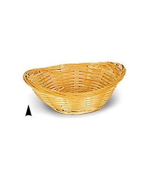 4/51 OVAL BAMBOO BOWL CS. PK.: CS. PK.: 600