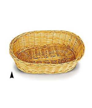 4/9107 OVAL WILLOW BOWL CS. PK.: 100