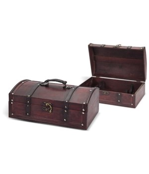 5/007 2-BOTTLE WOOD CASE CS. PK.: 12