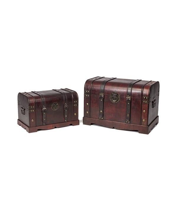 5/11082 S/2 JUMBO WOOD BOXES CS. PK.: 4