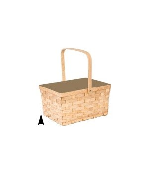 5/13-88A WOOD PICNIC BASKET CS. PK.: 20