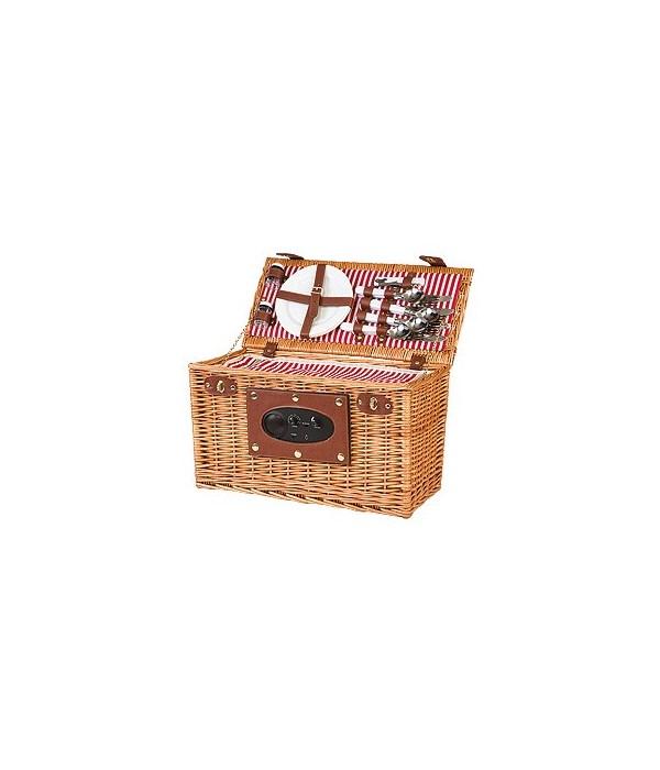 5/14151N WILLOW PICNIC BASKET W/RADIO CS. PK.: 4