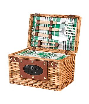 5/14299N WILLOW BARBEQUE BASKET W/RADIO CS. PK.: 4