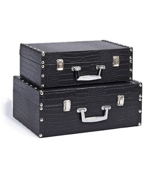 5/8094 S/2 WOOD ATTACHE CASES CS. PK.: 6