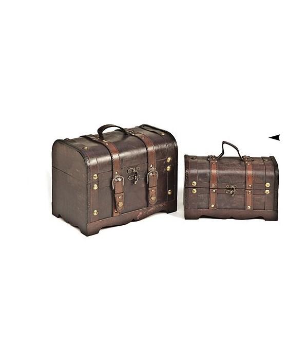 5/998138 S/2 WOOD BOXES CS. PK.: 6