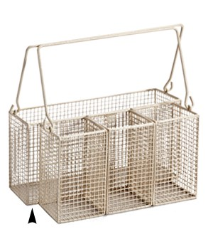 6/2199 WIRE UTENSIL CADDY CS. PK.: 24