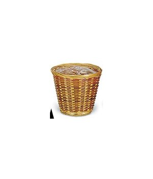 "8/104/G/6 6"" BAMBOO PLANTERS W/LINER CS. PK.: 300"