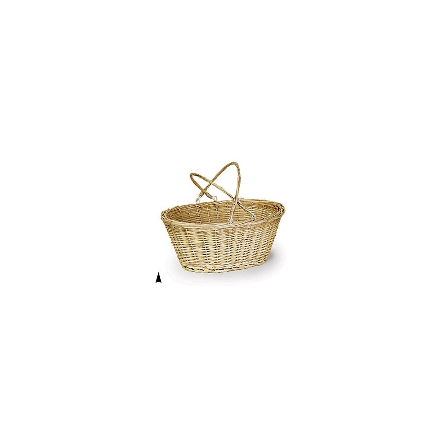 9/61063A OVAL WILLOW DROP HANDLE BASKET CS. PK.: 20
