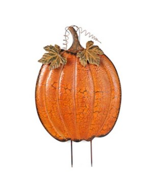 JUMBO TIN PUMPKIN CS. PK.: 4