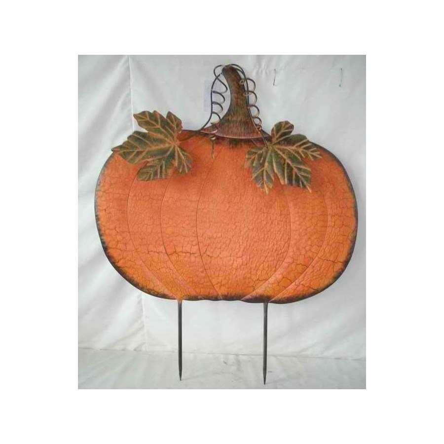 TIN JUMBO FAT PUMPKIN CS. PK.: 6