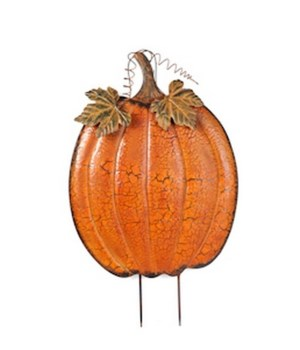 "24"" TIN PUMPKIN CS. PK.: 12"