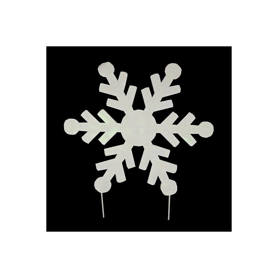 """12"""" TIN SNOWFLAKE CS. PK.: 24"""