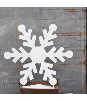 "36"" TIN SNOWFLAKE CS. PK.: 6"