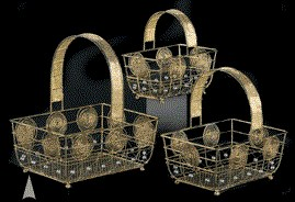 Wire Baskets and Trays