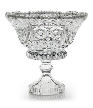 FB-052 FANCY FOOTED GLASS BOWL CS. PK.: 8