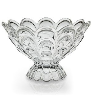 FB-094 FOOTED GLASS FRUIT BOWL CS. PK.: 6