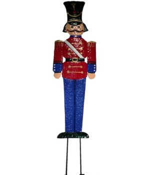 "72"" TIN SOLDIER CS. PK.: 6"