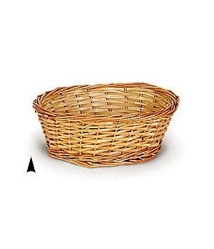 M/10/OV  OVAL SPLIT WILLOW BOWL CS. PK.: 100