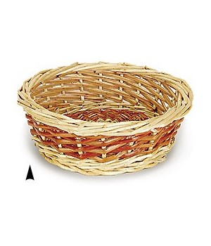 M/10/RD 10 ROUND SPLIT WILLOW BOWL CS. PK.: 100