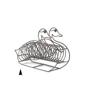 SMD-5026 GREY WIRE SWAN CD HOLDER CS. PK.: 6