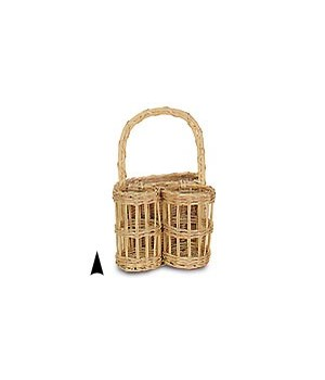W96004 WINE AND CHEESE BASKET CS. PK.: 24