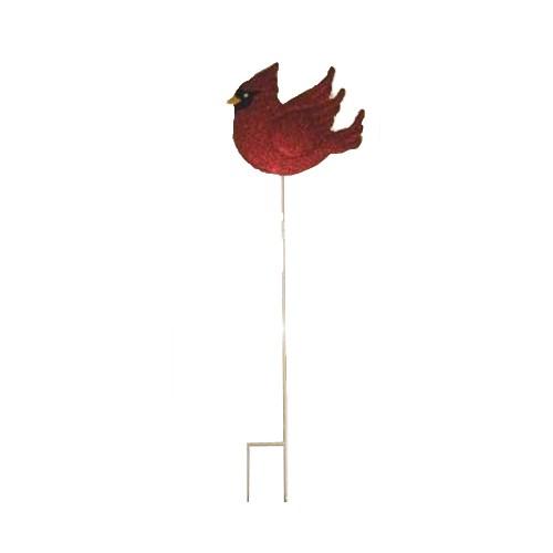 TIN RED CARDNAL STAKE CS. PK.: 12