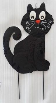 TIN CAT YARD ART CS. PK.: 6