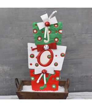 "36"" TIN JOY GIFTS CS. PK.: 6"