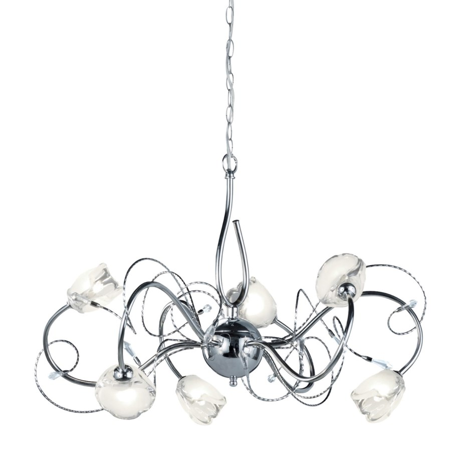 Caprice Chandelier in Chrome
