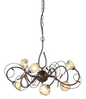 Caprice Chandelier in Bronze