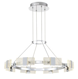 Krone Chandelier in Chrome