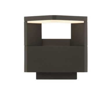 Amarillo Outdoor Sconce in Dark Gray