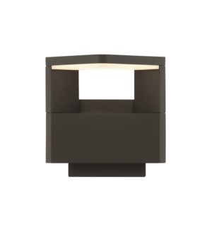 Amarillo Outdoor Sconce in Charcoal